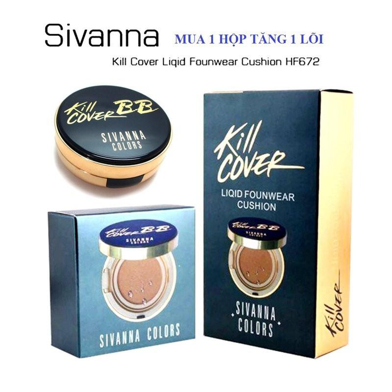 Phấn nước Kill Cover SPF50 PA++ Cushion BB Cream SIVANNA HF672