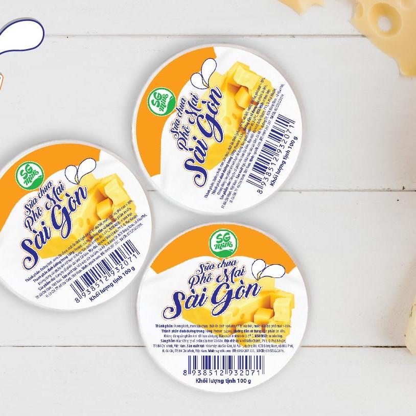 Sữa Chua Phô mai SG Milk 12 hủ 100g /thùng