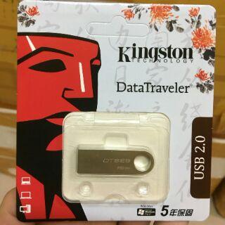 [Mã ELFLASH5 giảm 20K đơn 50K] USB chống nước 2.0 Kingston DTSE9 - 16GB - Hàng chính hãng