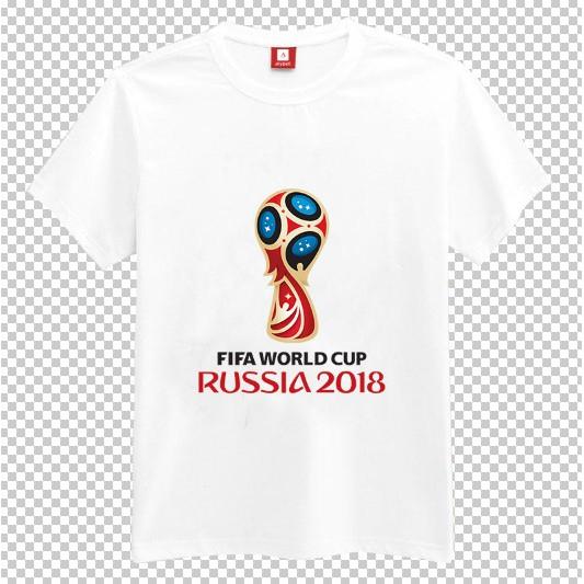 Áo thun nam nữ logo FIFA World Cup RUSSIA 2018