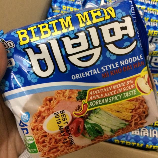 |Mỳ Khô Hàn| Mỳ Trộn Cay Paldo BibimMen 130g