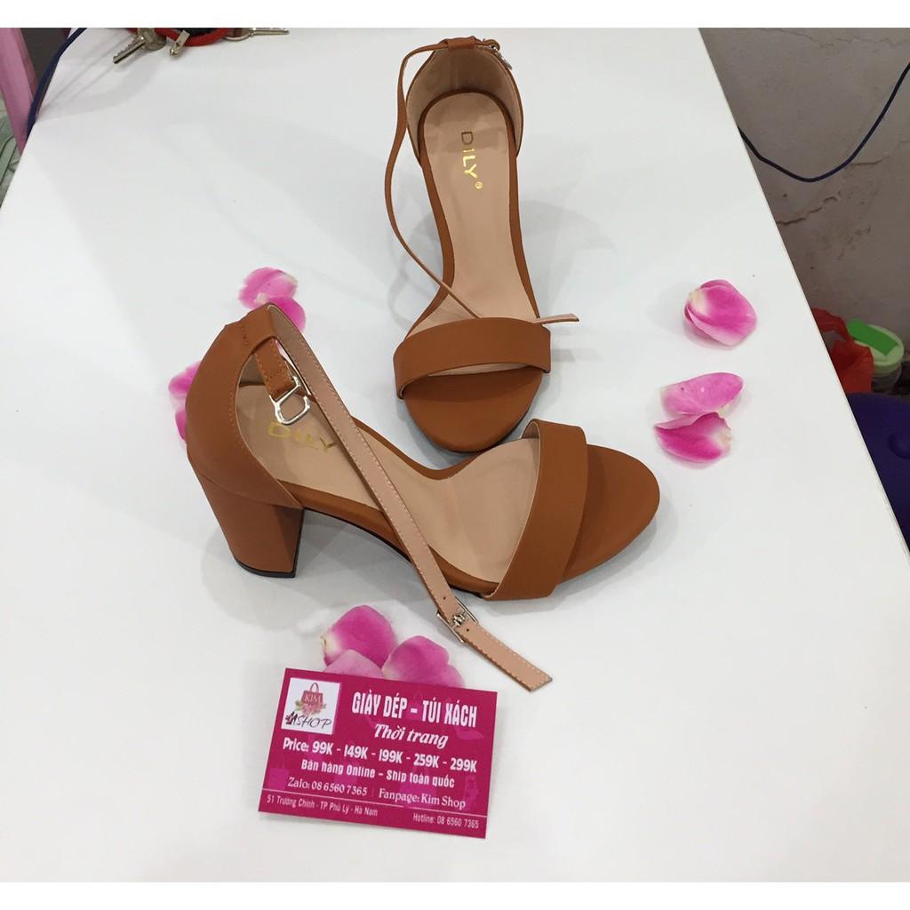 Sandal cao gót - Hàng loại 1