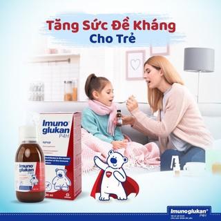 Siro Tăng Cường Miễn Dịch Cho bé Imunoglukan P4H 60ml