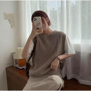 Áo GILE len cổ tròn basic