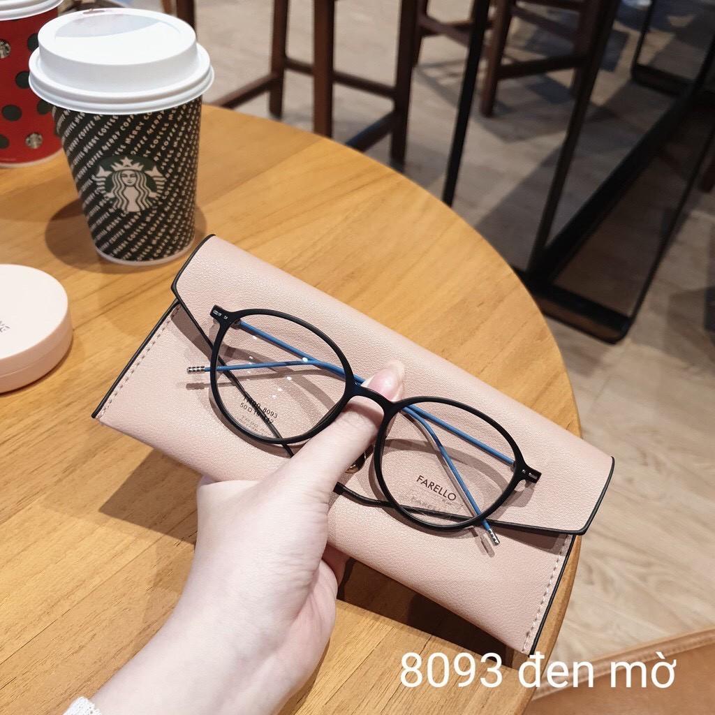 Gọng Kính Cận Nam Nữ Mắt Tròn Nhỏ Gọng Tăm 8069 - Moss Eyewear