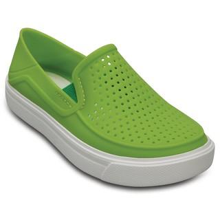 Giày Crocs CitiLane Roka Slip-On cho Bé (màu Xanh lá)