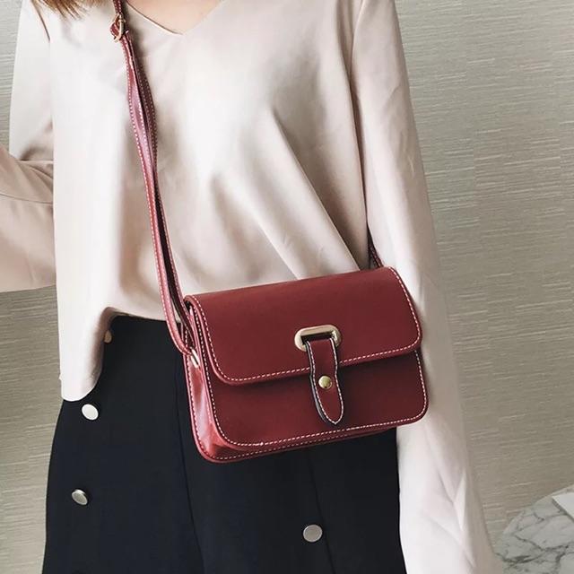 Túi QC đỏ ( Kèm ảnh thật )