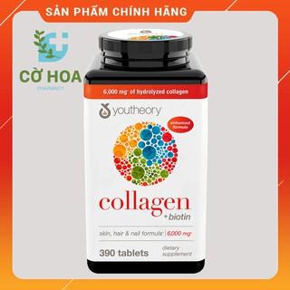 Viên bổ sung Collagen youtheory Collagen + Biotin- Hộp 390 viên thumbnail