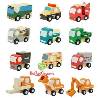 Đồ chơi trẻ em thông minh – Mô Hình 12 xe mini, Bộ sưu tập đồ chơi cho bé trai năng động