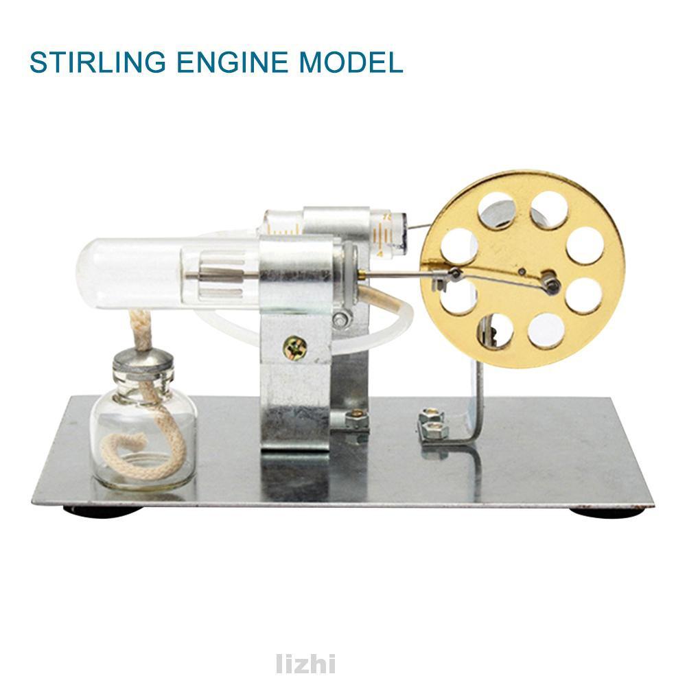 Mô Hình Động Cơ Stirling Mini Cho Bé