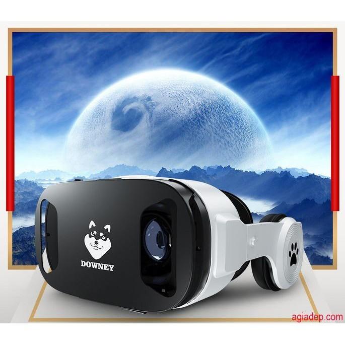 Kính thực tế ảo 3D VR cao cấp Downey - Sói bạc X9 (Nổi tiếng Toàn cầu)