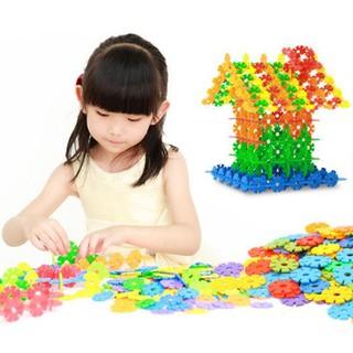 Bộ đồ chơi xếp hình hoa tuyết