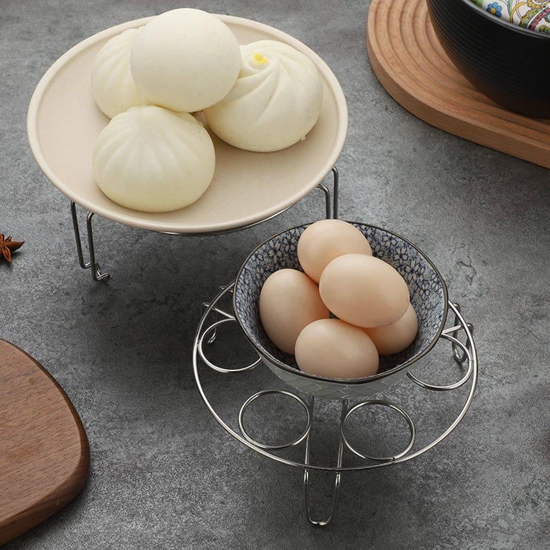 Máy sưởiGiá hấp trứng gia dụng bằng thép không gỉ đa chức năng