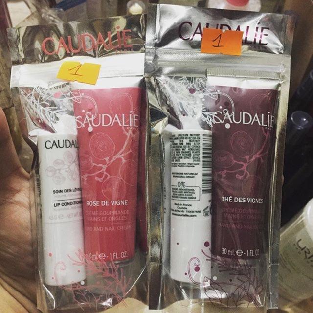 Set son dưỡng + kem tay Caudalie