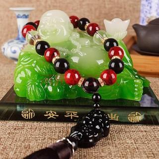 TƯỢNG PHẬT DI LẶC Ngọc Phong Thuỷ, Có Ngăn Nước Hoa, Để Trên Taplo Ô Tô / Bàn Làm Việc