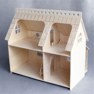KD☆★Mô hình DIY gỗ trang trí nhà búp bê