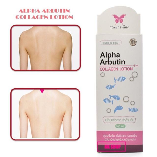 Siêu Phẩm Dưỡng Trắng Alpha Arbutin 2 in 1 300ml Thái Lan