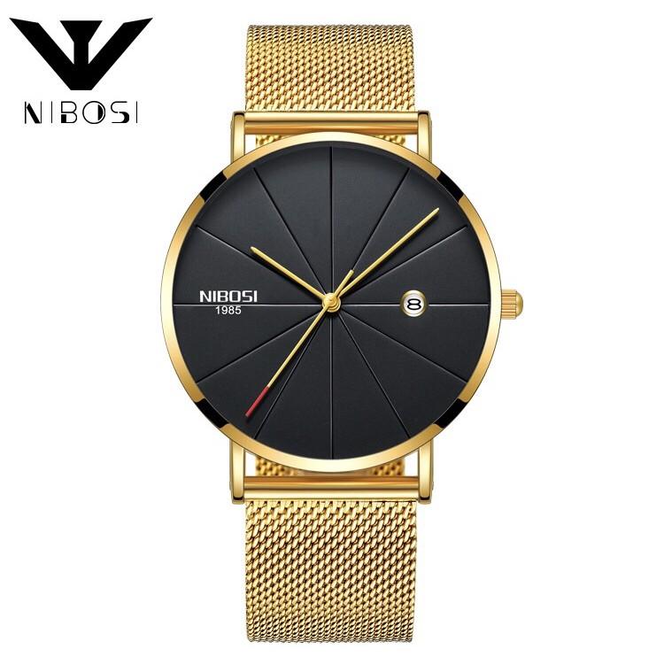 Đồng hồ nam NIBOSI 🔥 FREESHIP + TẶNG VÒNG TAY 🔥  Giảm 15K nhập [ DONG HO NAM ] - Ưu đãi mua đồng hồ nam tại