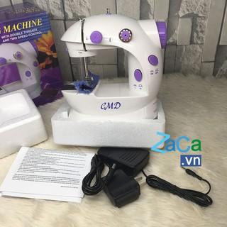 [Bảo hành 12 tháng] Máy may mini máy khâu mini CMD hàng nhập khẩu, máy may gia đình cao cấp (tặng khẩu trang)