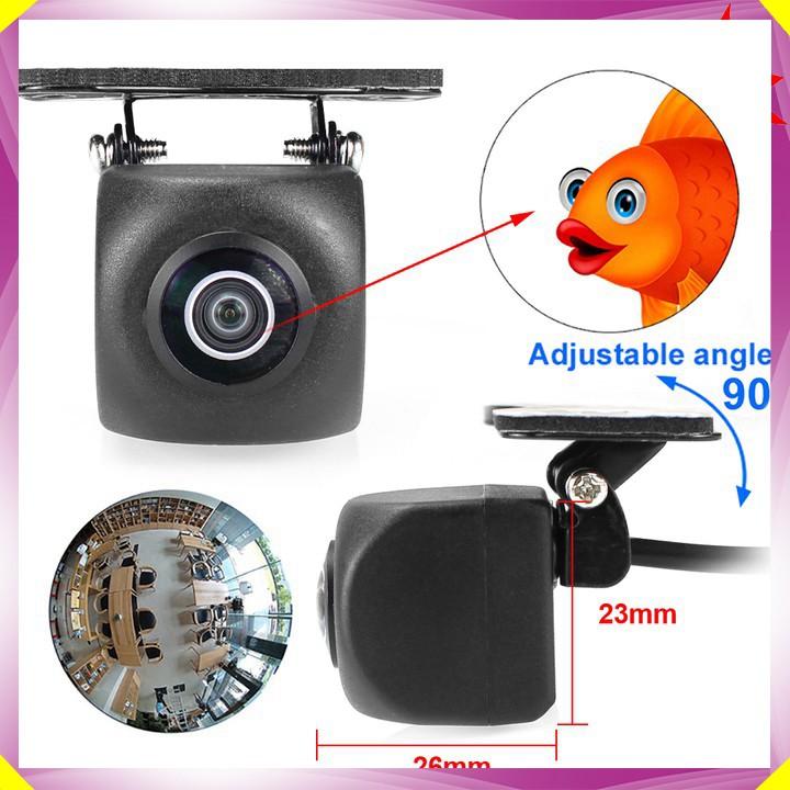 Camera lùi AHD 1080P độ nét cao dùng cho màn hình ô tô FA816 - Camera chip: AHD/Sony OV225 - Góc quay rộng: 170 độ