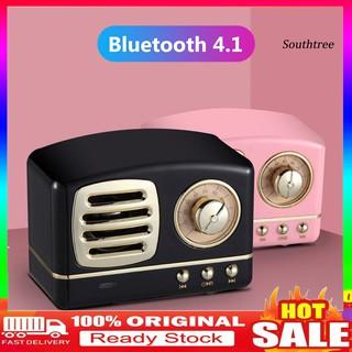 Loa Bluetooth Không Dây Mini Phong Cách Vintage