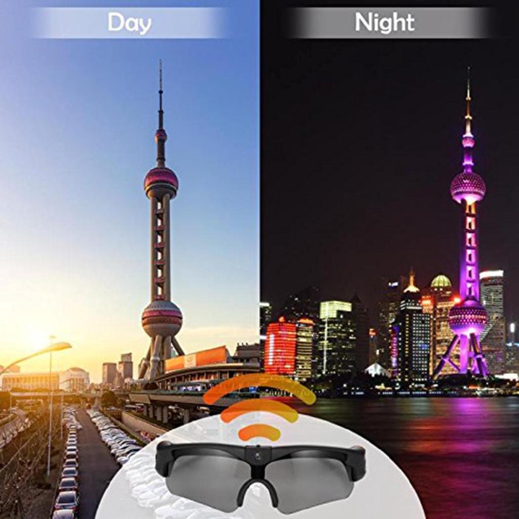 [Cl] 1280x960 Resolution Camera Digital Sunglasses Climbing Eyewear Video Recoder