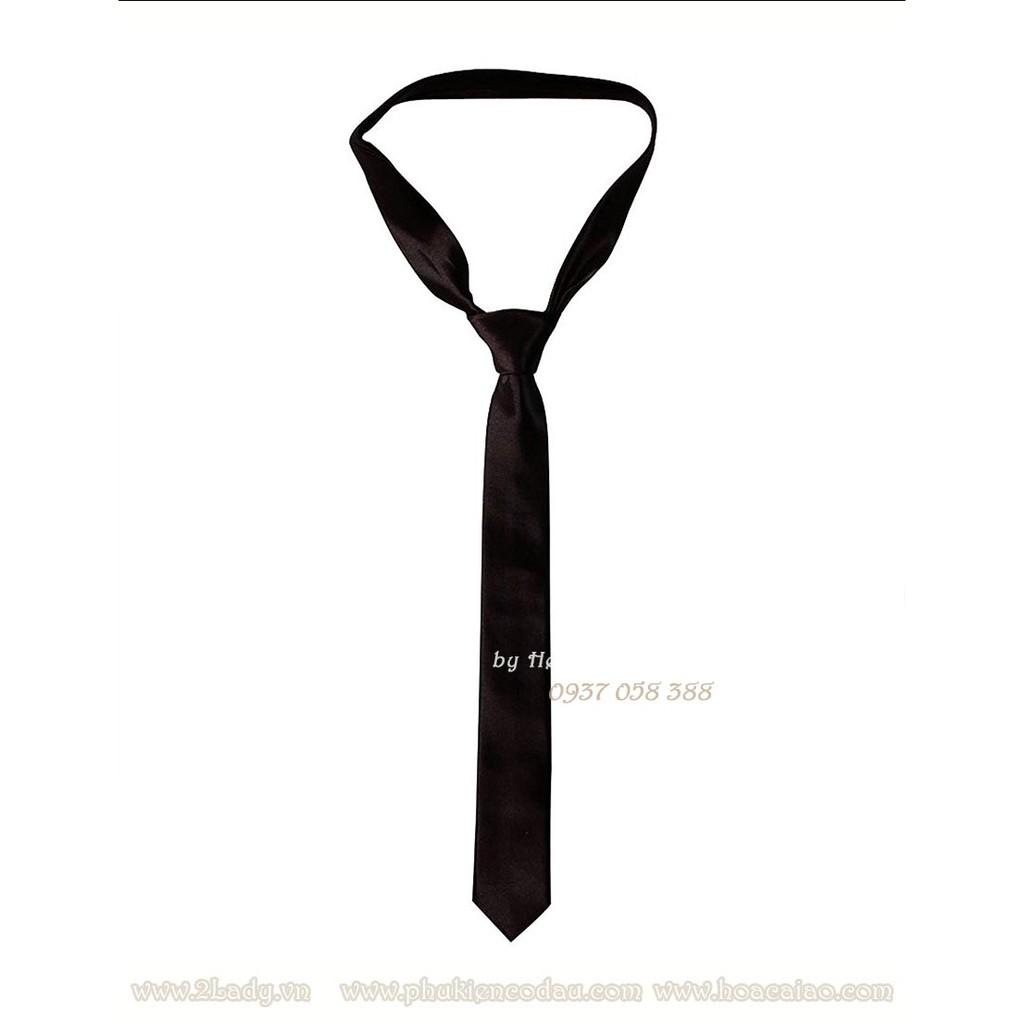 Cà vạt nam nữ bản nhỏ 5cm sinh viên học sinh
