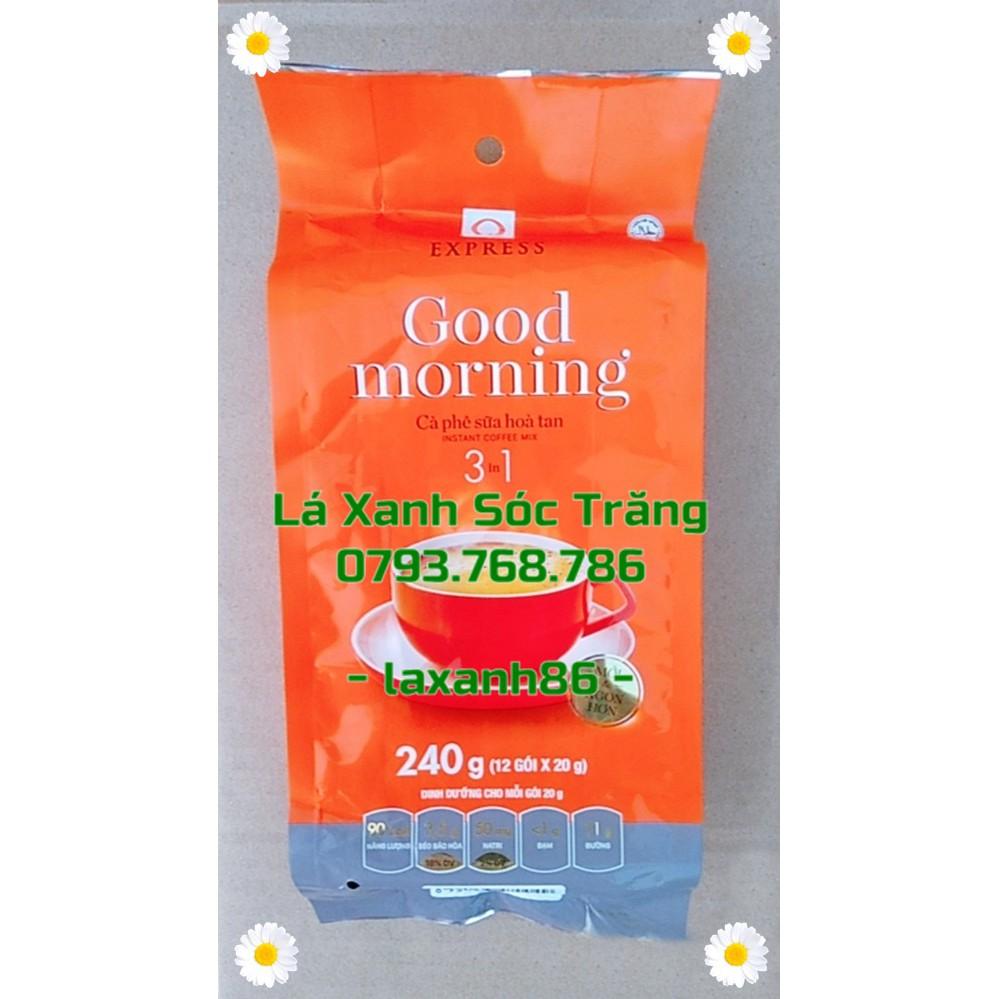 Gói 240gr Cà Phê Sữa Hòa Tan Trần Quang