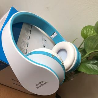 Tai nghe Bluetooth chụp tai NX-8582 - tainghebuetooth không dây Stereo Có Thể Gập Lại ( Màu ngẫu nhiên)