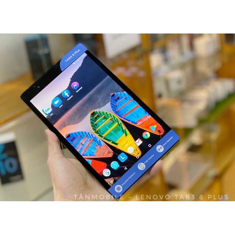 Lenovo Tab3 8Plus Ram3GB/Snap 625 Máy tính bảng giá rẻ học zoom , chơi game 1tr850k
