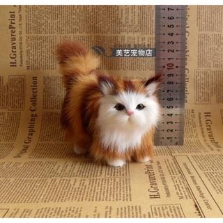 Mèo đáng yêu mô hình siêu thật