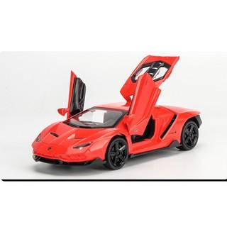 Xe mô hình giá rẻ Lamborghini-Miniauto 770-4 tỉ lệ 1:32 màu đỏ