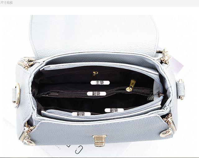 Túi xách nữ khóa giọt nước cực đẹp 32235