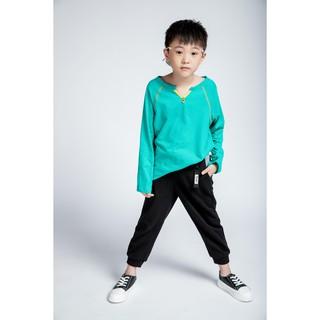 Aó Thun Dài Tay Dành Cho Bé Trai (4-13 tuổi) Jookyli
