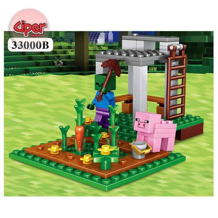 ( Hàng ORDER ) - [Nhập mã TOYJULY giảm 10% tối đa 20K đơn từ 99K]Lego minecraft Mô hình lắp...