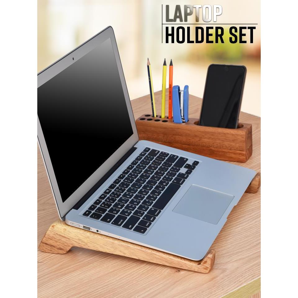 [ELMI04 hoàn 25K xu]Bộ giá để laptop và hộp 3 trong 1 Giá chỉ 76.000₫