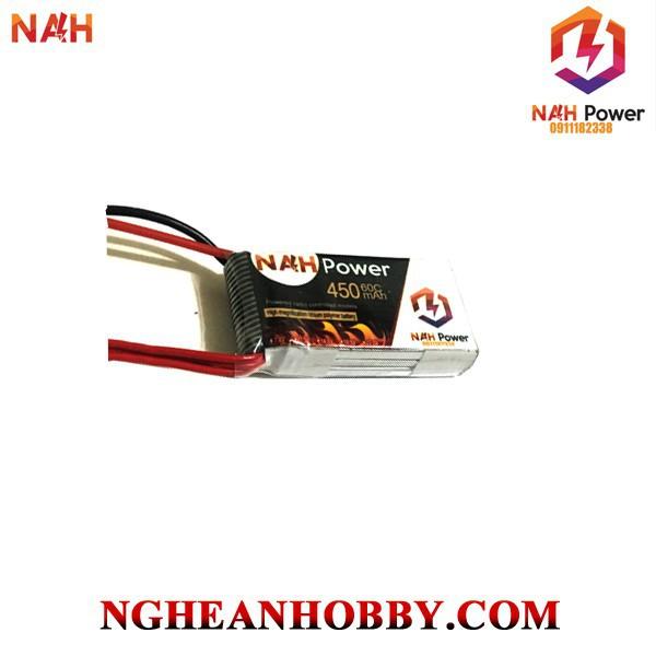 Pin Lipo NAH Power 4S 450mAh 60C