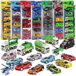 Đồ chơi Set 6 xe nhiều mẫu nhiều màu cho bé (giao ngẫu nhiên) I25 thumbnail
