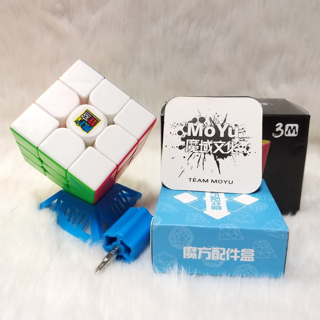 Rubik Meilong 3×3 M có nam châm Stickerless cao cấp