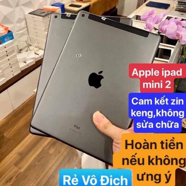 [Mã ELMS5 giảm 7% đơn 300K] Máy tính bảng apple ipad mini 2 Rentina 7.9 inh chính hãng 32/16gb hỗ trợ bảo hành 12 tháng