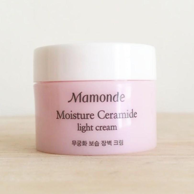 Kem Dưỡng Mamonde Moisture Ceramide Light Cream 15ml