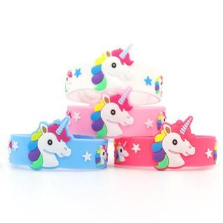 Vòng tay Unicorn hottrend cho bé gái bằng nhựa mềm đủ màu sắc BBShine J045 thumbnail