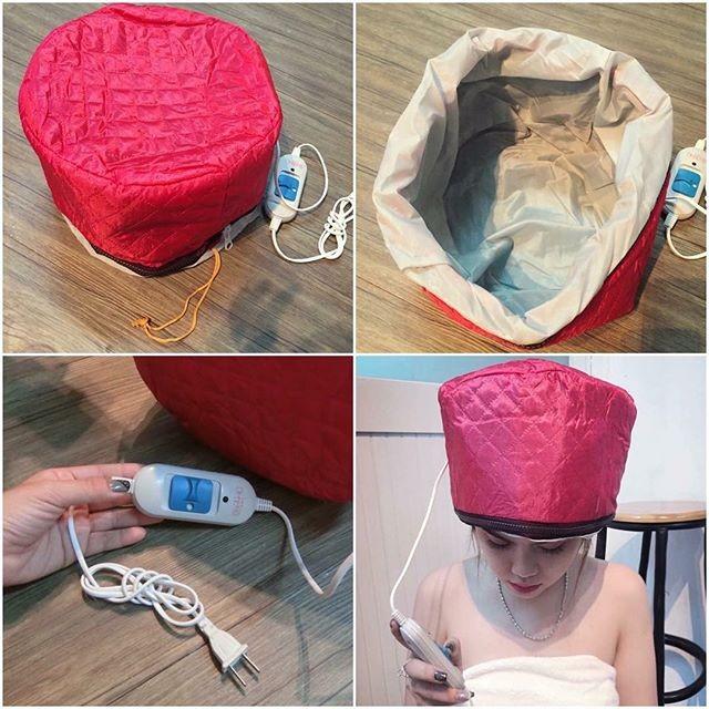 Mũ hấp tóc tại nhà cắm điện (đỏ) - 2753359 , 119276055 , 322_119276055 , 55000 , Mu-hap-toc-tai-nha-cam-dien-do-322_119276055 , shopee.vn , Mũ hấp tóc tại nhà cắm điện (đỏ)
