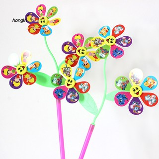 Bộ 3 đồ chơi chong chóng hình hoa đáng yêu cho trẻ