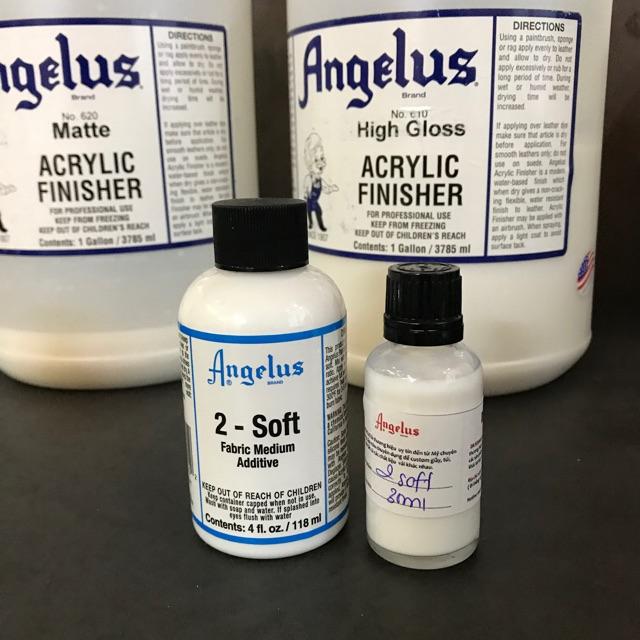2-Soft - Fabric Medium Additive Angelus Brand
