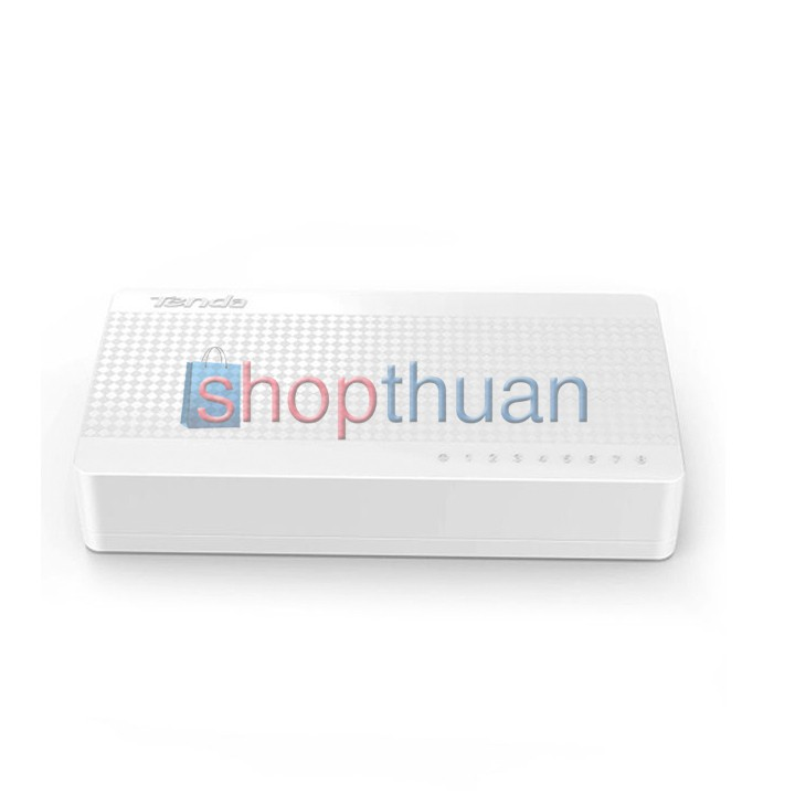 Bộ chia switch 8 Port Tenda 100M S108
