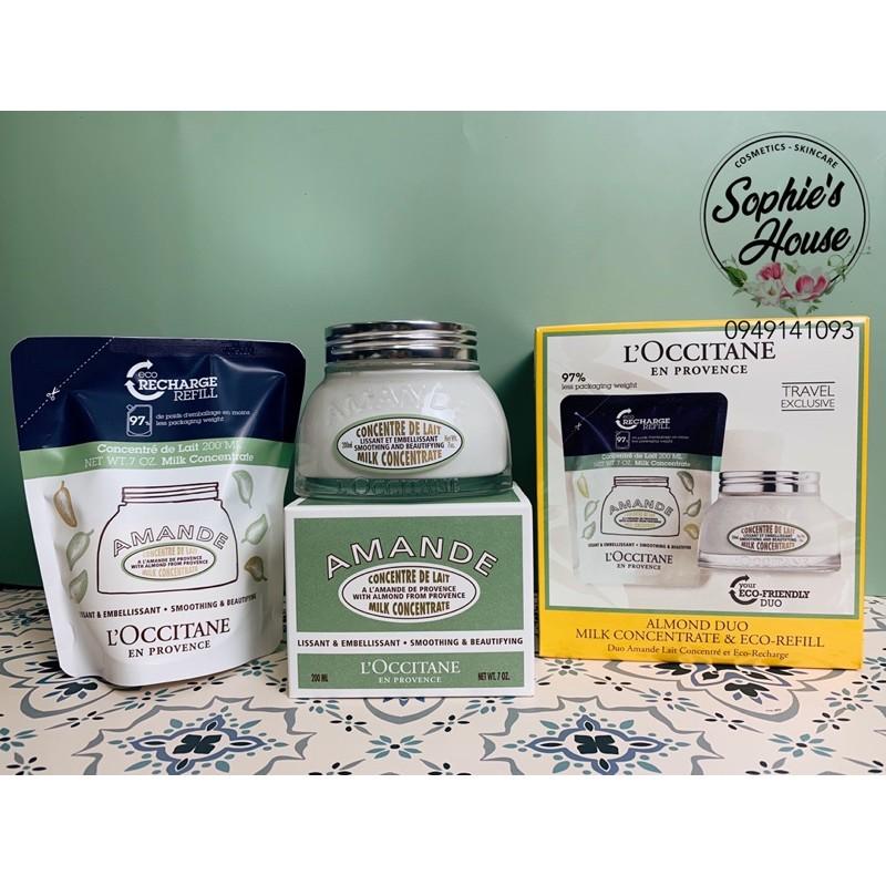 [200ml] Kem Dưỡng Thể Loccitane Almond Milk Concentrate