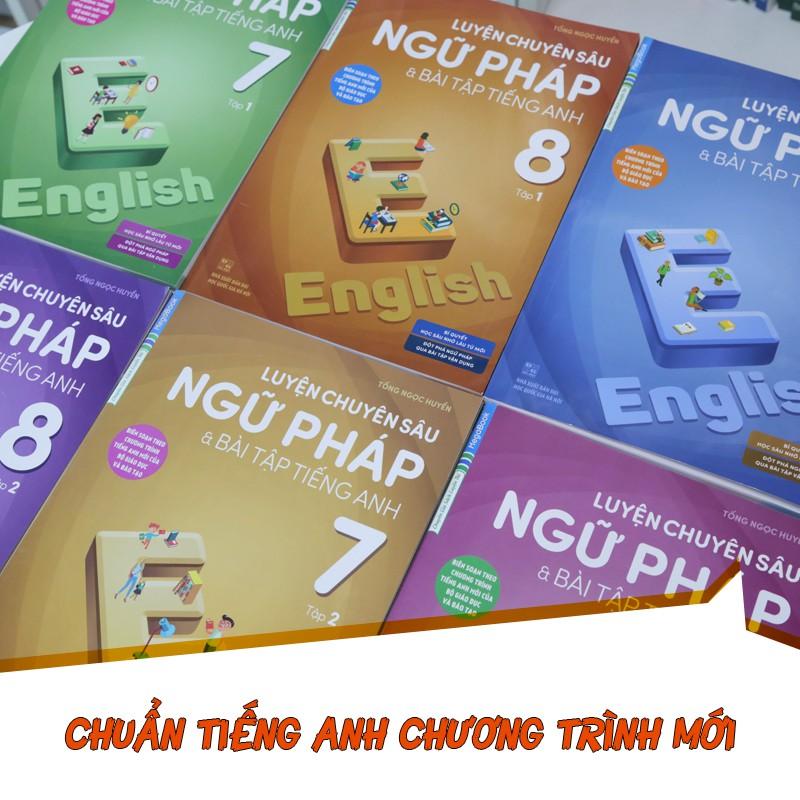 Sách Luyện Chuyên Sâu Ngữ Pháp Và Bài Tập Tiếng Anh 8 Tập 2 (Chương Trình Mới)