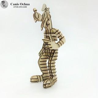 Chó Goofy _ Mô hình lắp ráp gỗ 3D bằng hình ảnh _ Walt Disney
