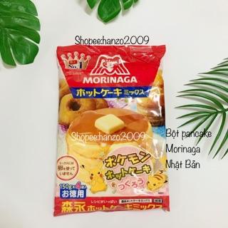 Bột làm bánh Pancake morinaga Nhật Bản cho bé (Bánh rán doremon)